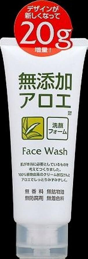 不実かわす作りますロゼット 無添加アロエ洗顔フォーム140G  香料?鉱物油?防腐剤?着色料は無添加×48点セット (4901696534052)