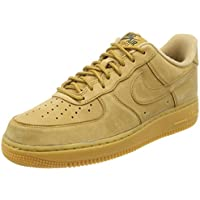 Nike Men's Air Force 1 07 WB, Flax/Flax-Gum Light Brown
