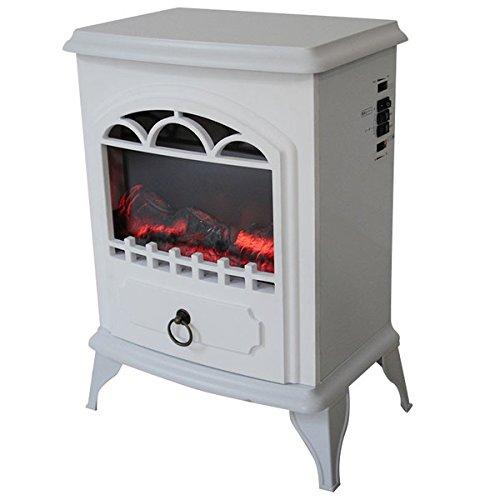 マナベインテリア 暖炉型ヒーター フラム ホワイト