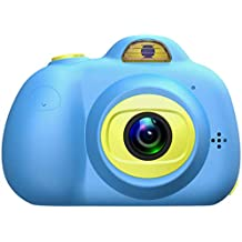 2020 Children's Day Gift is Suitable for 3-10 Year Old Children's Camera 1080P high-Definition Digital Dual Camera, 2 inch Mini Children's Camera Toy, Easy to use (excluding Memory Card)