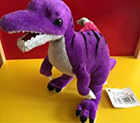 紫 スピノサウルス ぬいぐるみ 1 恐竜