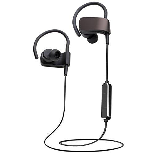 GanRiver Bluetooth イヤホン 高音質 apt-X対応 8時間連続再生 CVC6.0ノイズキャンセリング マイク付き ハンズフリー通話 ブルートゥース イヤホン IPX4防水 ワイヤレス イヤホン スポーツ Bluetooth ヘッドホン ヘッドセット