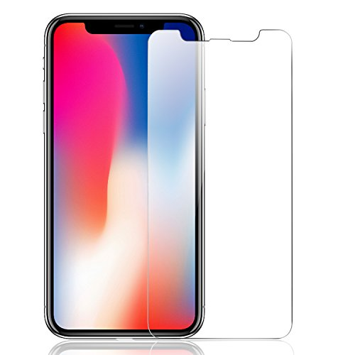 ELTD iPhone x フィルム  iPhonex 保護フィルム  強化ガラス   耐衝撃 高透過率 クリア