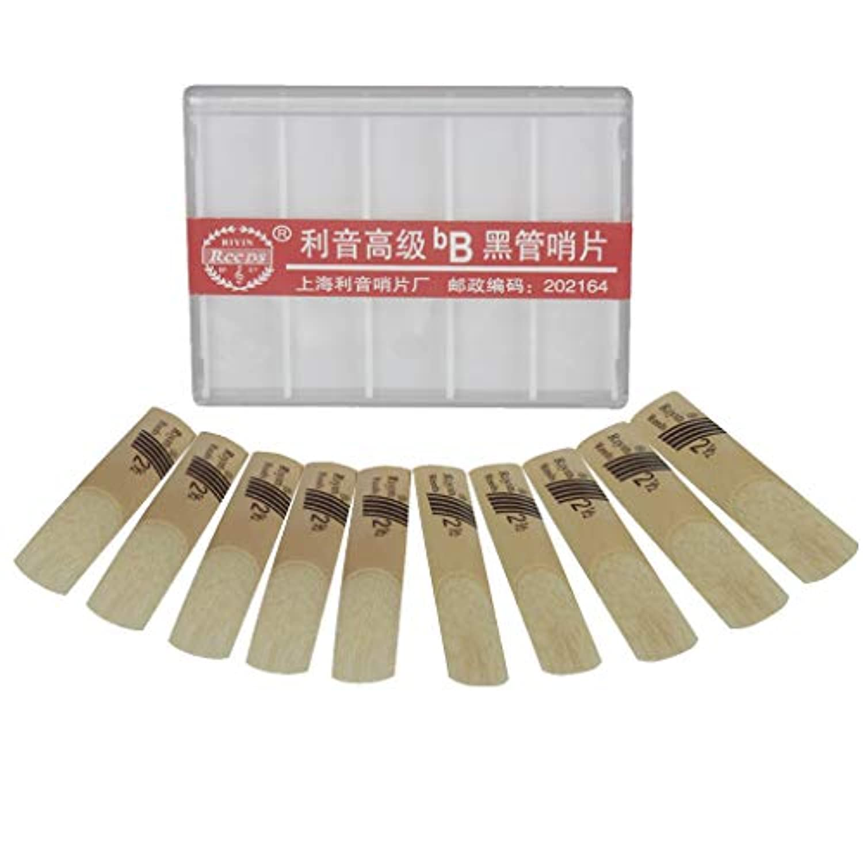 Fenteer 68mm 葦製 クラリネット用 10枚入り 代品