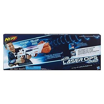 Nerf - Laser Ops - Electronic Deltaburst Blaster - The Ultimate Laser Game - Blaster, Armband & Instructions - Ages 8+