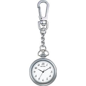 [シチズン キューアンドキュー]CITIZEN Q&Q 懐中時計 FREE WAY(フリーウェイ) ポケットウォッチコレクション ホワイト AA92-4431B