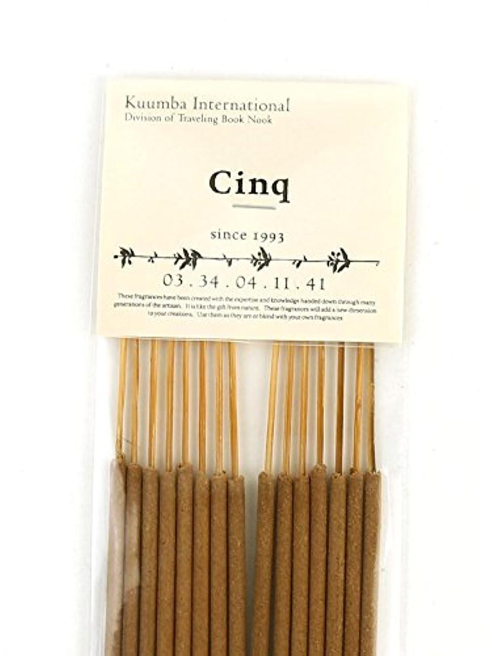 売上高影響を受けやすいですキャンセル(クンバ) Kuumbaスティックインセンスお香レギュラーサイズB(15本入り)RG-INCENSE?358 F(フリー) CINQ(CINQ)