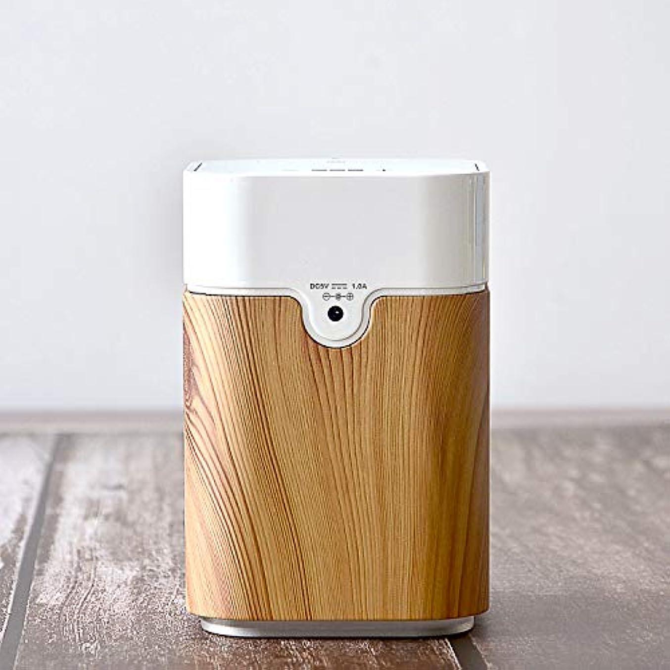 入り口ペフにやにやエッセンシャルオイル拡散器USB充電機アロマディフューザー ヨガ室 整体院人気 タイマー機能 ネブライザー式 量調整可能 付き