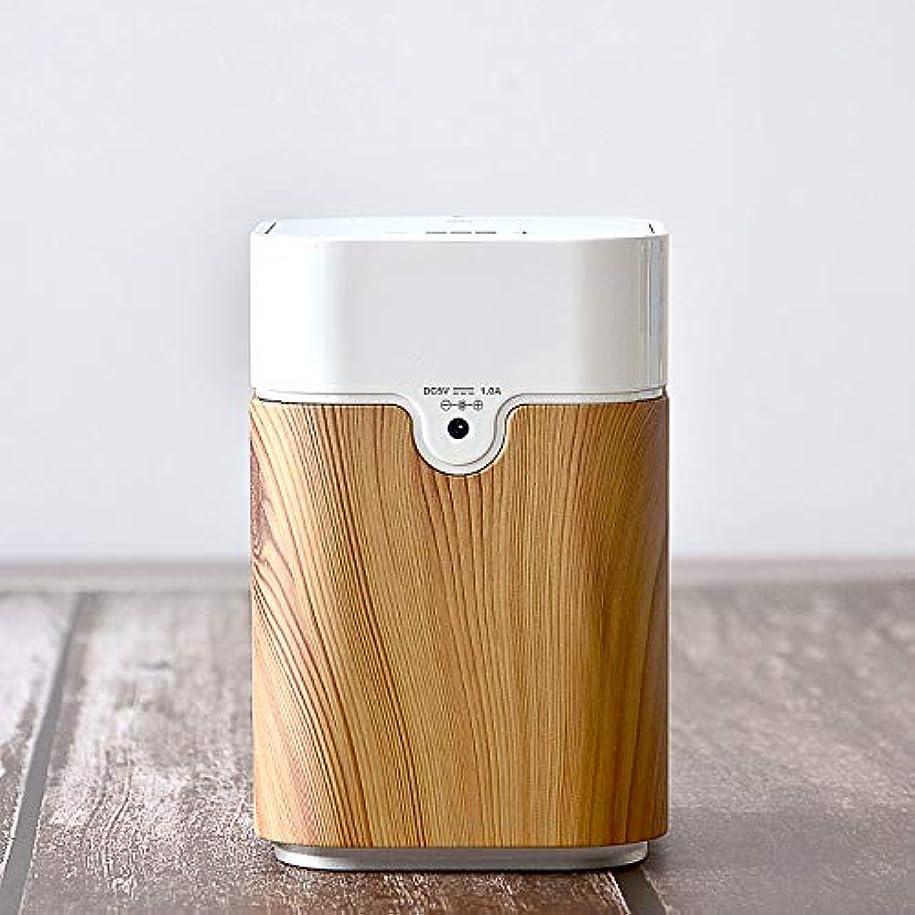 危険な適用済み天使エッセンシャルオイル拡散器USB充電機アロマディフューザー ヨガ室 整体院人気 タイマー機能 ネブライザー式 量調整可能 付き
