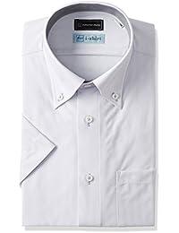 [ピーエスエフエー] P.S.FAI-Shirt 完全ノーアイロン スリムモデル 半袖ボタンダウンアイシャツ P162170077