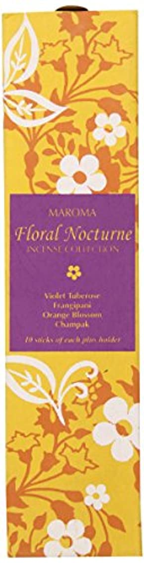 縮約思い出させる神秘的なMaroma Incense Collection, Floral Nocturne by Maroma