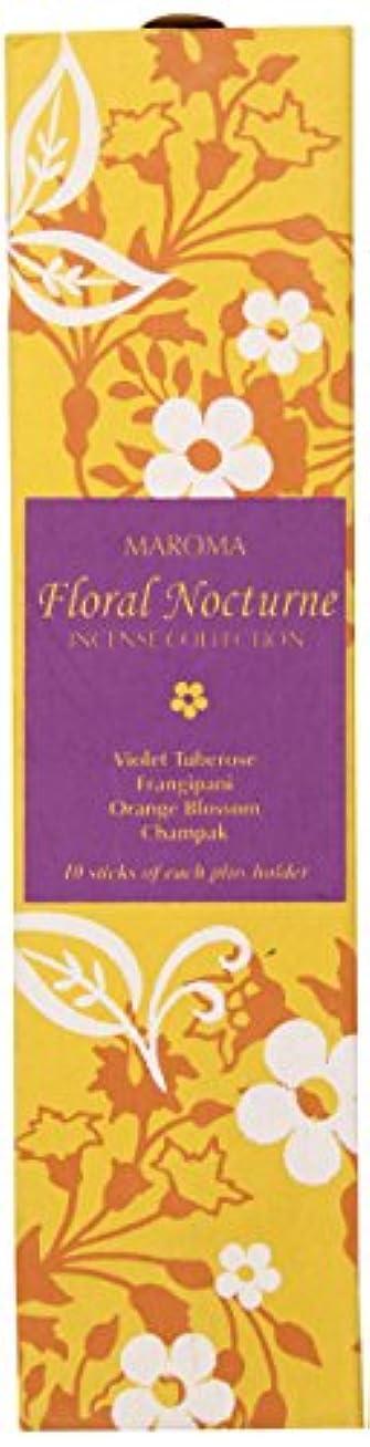 わずかな宿る再生的Maroma Incense Collection, Floral Nocturne by Maroma