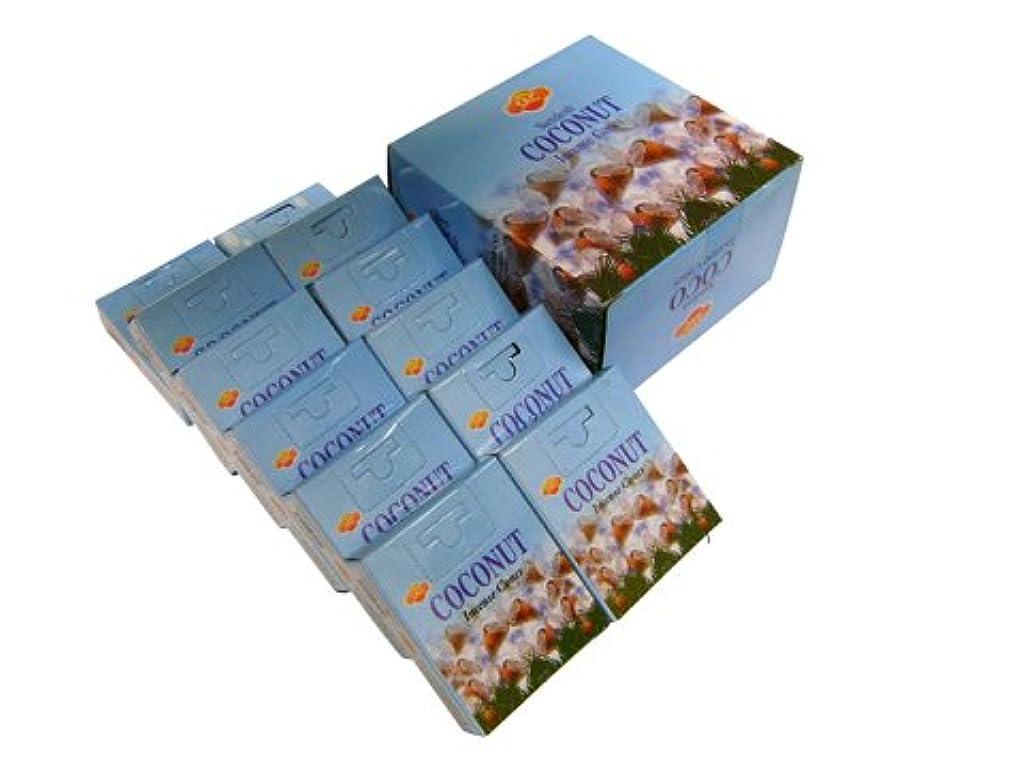鋼パース太字SANDESH SAC (サンデッシュ) ココナッツ香コーンタイプ COCONUT CORN 12箱セット