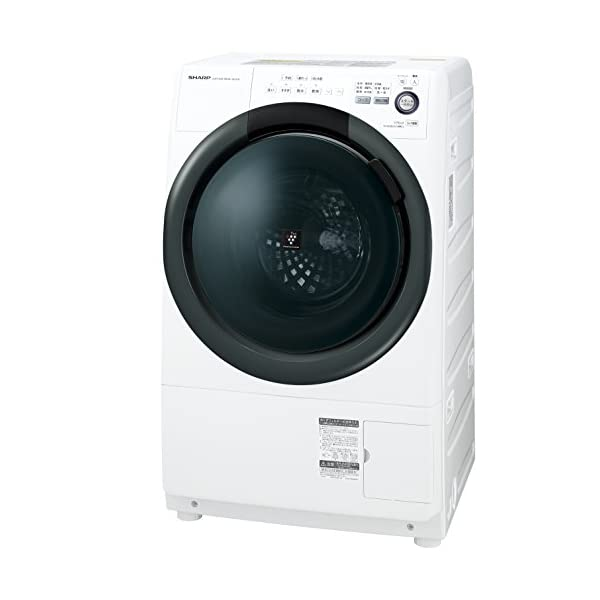 シャープ 洗濯乾燥機 ドラム式 左開き 7kg ...の商品画像