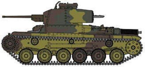 ファインモールド1/35 帝国陸軍 九七式中戦車  新砲塔チハ