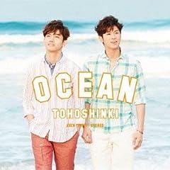 東方神起「OCEAN」の歌詞を収録したCDジャケット画像