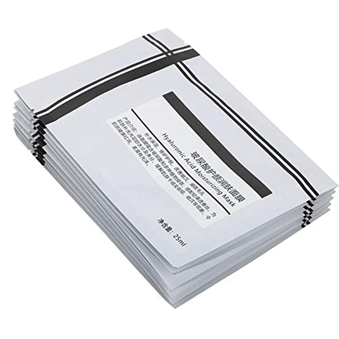 断片アルファベット主要な10個 ナチュラル フェイシャルマスク 保湿ブライトニングオイルコントロールフェイスマスク