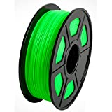 CC DIY - PLA+ 3D Printer Filament 1.75mm 1kg Spool Dimensional Accuracy +/- 0.02 mm (Green)