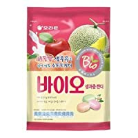 Bio Assorted Flavors Soft Chewy Candy Made with Fresh Grade A Milk 99g (Pack of 2)