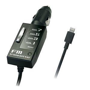カシムラ FMトランスミッター 4バンド 2.1A iPhone5/5s/5c対応 KD-145
