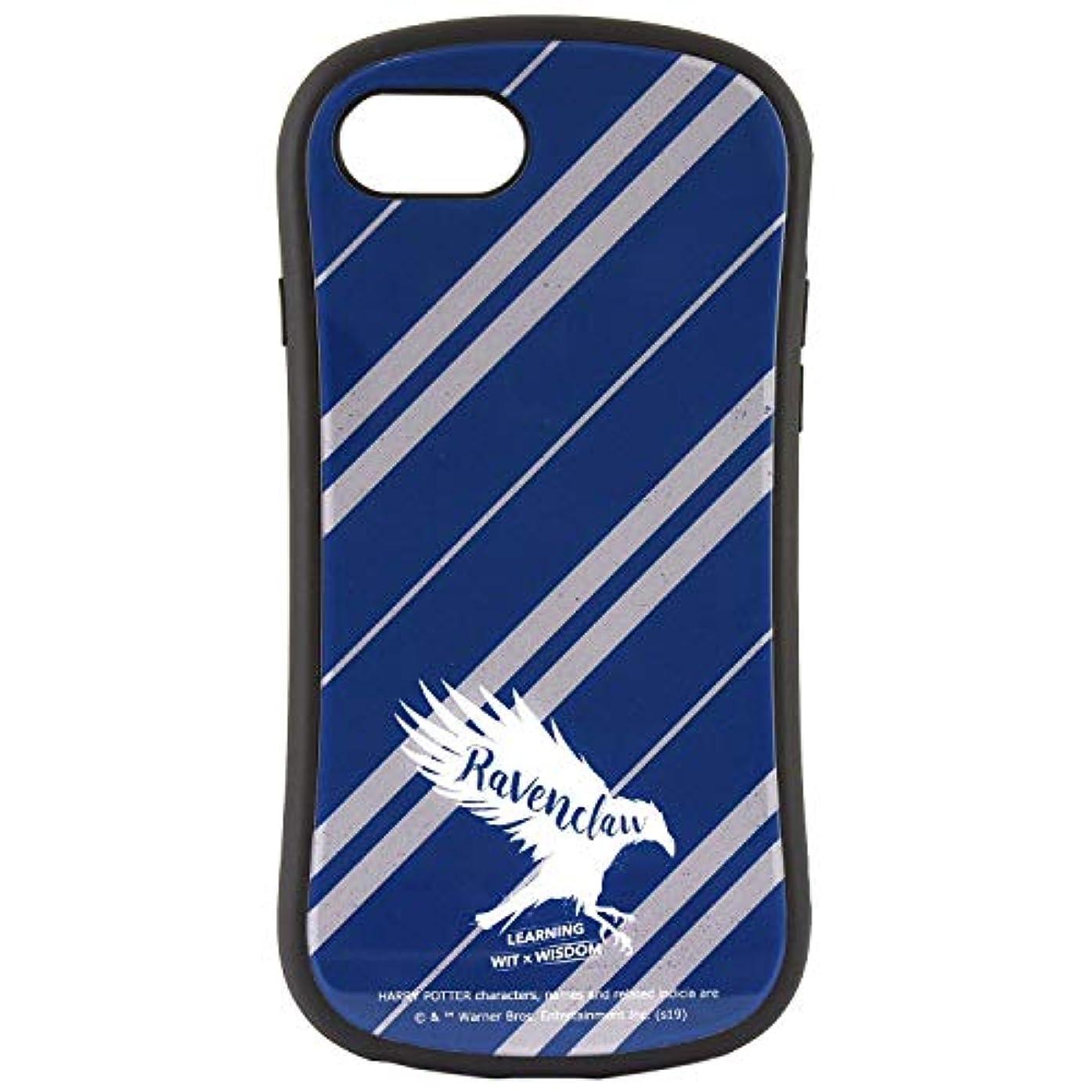 欠如軽く戸惑うグルマンディーズ ハリー?ポッター iPhone8/7/6s/6(4.7インチ)対応ハイブリッドガラスケース レイブンクロー hp-26c