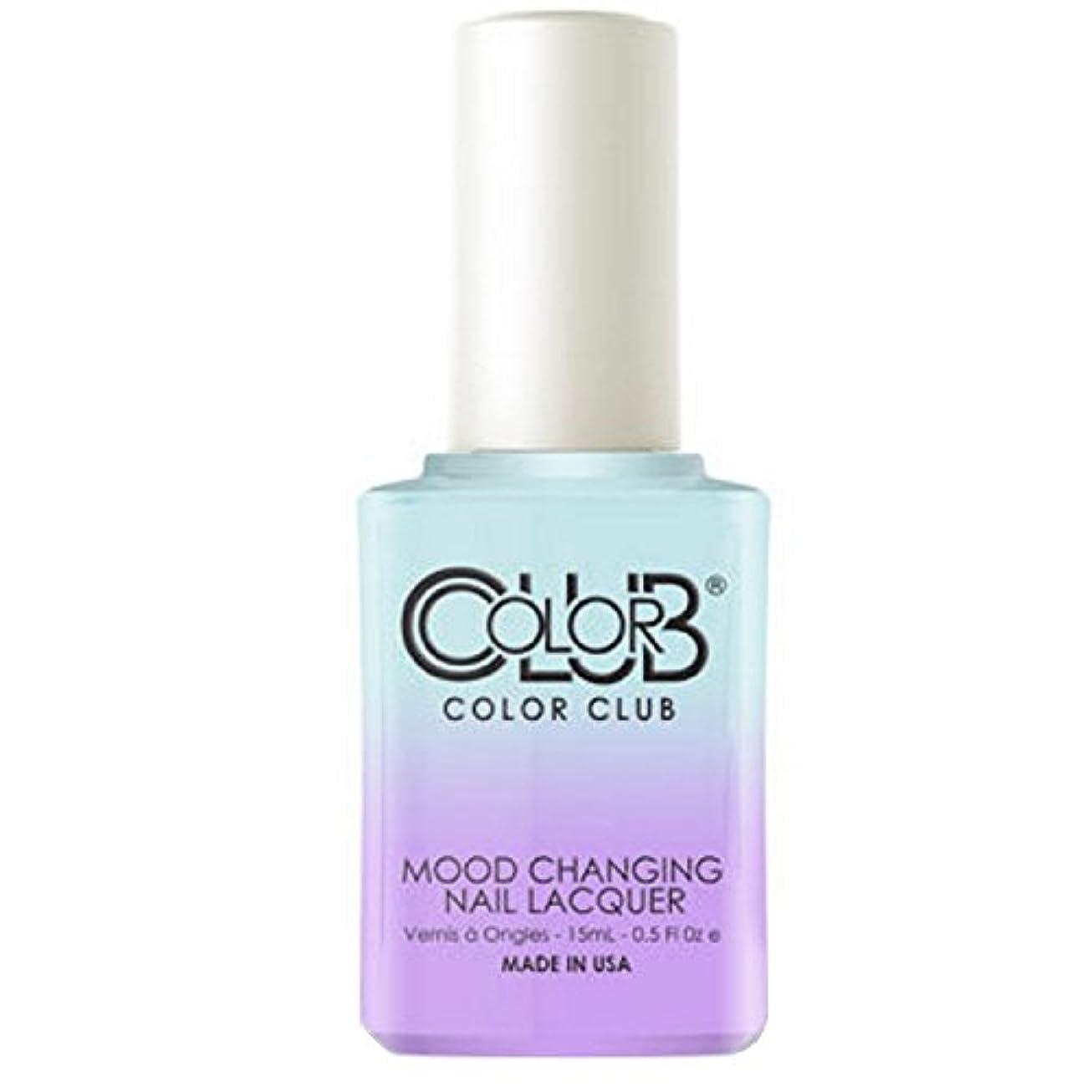 中失効医師Color Club Mood Changing Nail Lacquer - Blue Skies Ahead - 15 mL / 0.5 fl oz