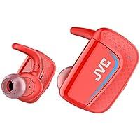 JVC HA-ET900BT 完全ワイヤレスイヤホン Bluetooth/防水(IPX5対応)/最大9時間再生 レッド HA-ET900BT-R