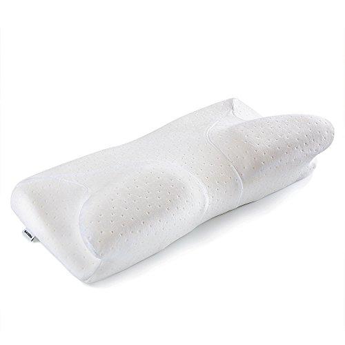 SATEOBA 人間工学設計ヘルスケア枕 低反発まくら 首・頭・肩・腕をやさしく支える健康枕 効果アップグレード いびき防止 頚椎サポート 肩こり対策 睡眠の質を上げる 快眠 洗える ピロー