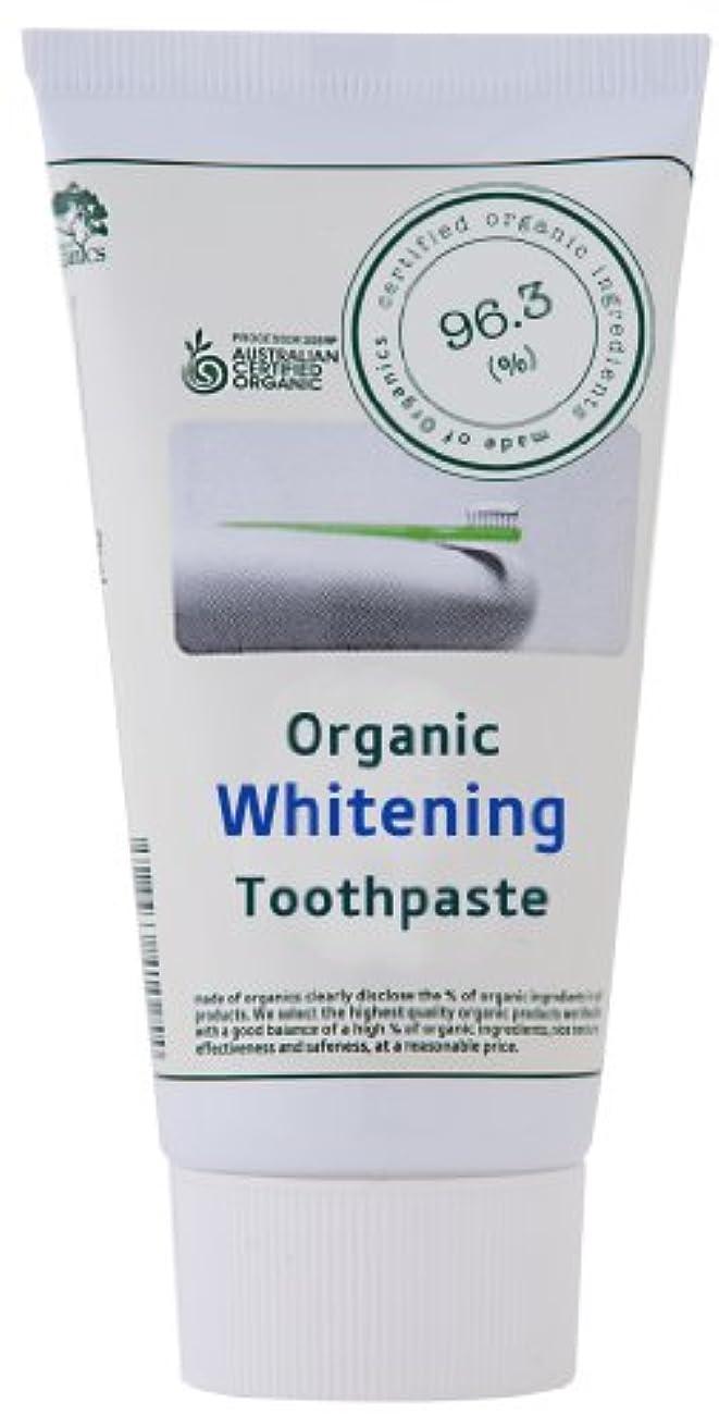 クロール施設倫理made of Organics ホワイトニング トゥースペイスト 25g