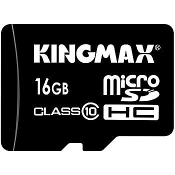 KINGMAX microSDHCカード ハイスピード class10 16GB SDHC変換アダプタ付 永久保証 KM-MCSDHC10X16G