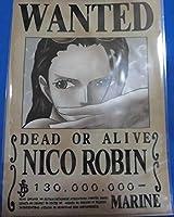 ワンピース ONE PIECE 麦わらストア クリアファイル 手配書クリアファイル ニコ・ロビン