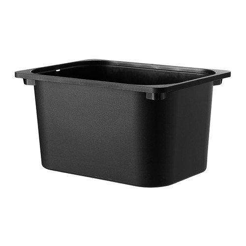 IKEA(イケア)  TROFAST 収納ボックス ブラック