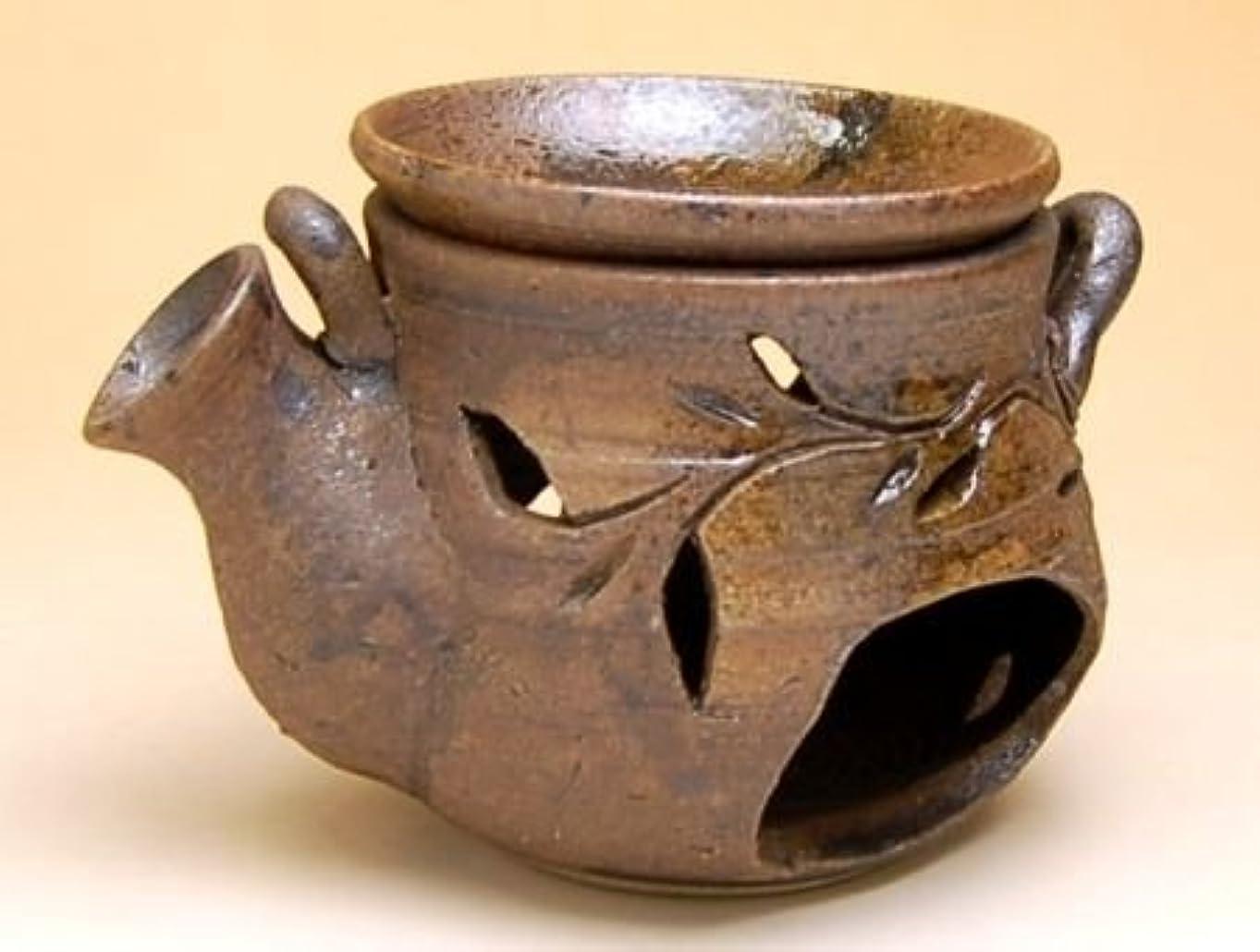 時計謎微弱有田焼 土瓶型 茶香炉【サイズ】径14cm×9.2cm×高さ9cm