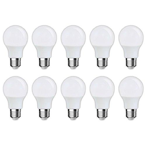 スタイルド LED電球 10個セット 口金直径26mm 40W形相当 485ルーメン 電球色 広配光タイプ 密閉器具対応 YDA40TL10