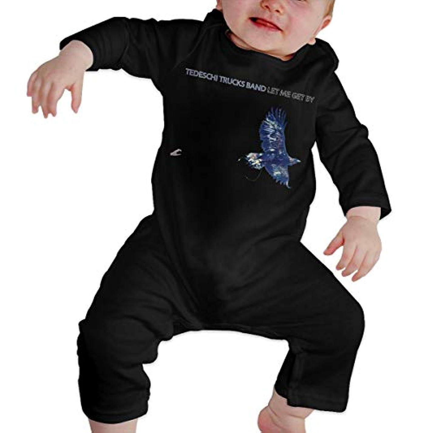 害コンペ愛されし者Baby's、Kid's、Infant Utility、Cotton ジャンプスーツ、ロンパース、衣類、ボディスーツユニセックスベビークローラーブラック 6M