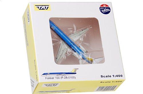 "1:400 JC ウィングス 400 JC4097 Fokker F100 ダイキャスト モデル KLM/TAT PH-KLH ""Christiaan Huygens"" 【並行輸入品】"