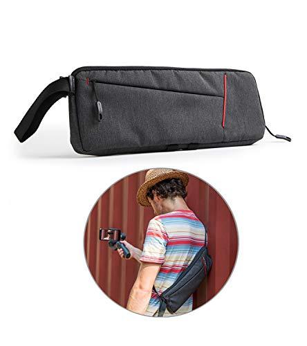 XBERSTAR DJI Osmo Mobile 2 ケース バッグ ショルダーバッグ 大容量 三脚、ケーブル、スマホなど収納可能 携帯に便利