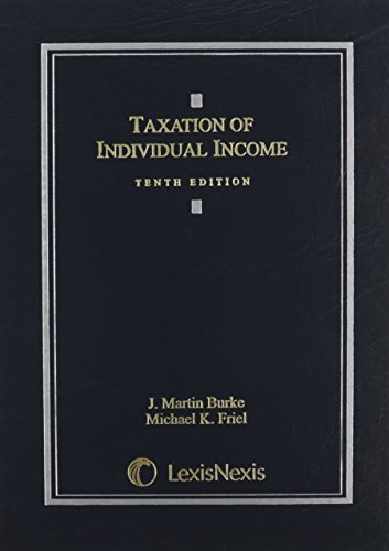 Download Taxation of Individual Income 0769848915