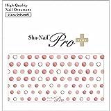 写ネイル ネイルシール Sha-NailPlus Shining Dots Pink gold SD-PPG