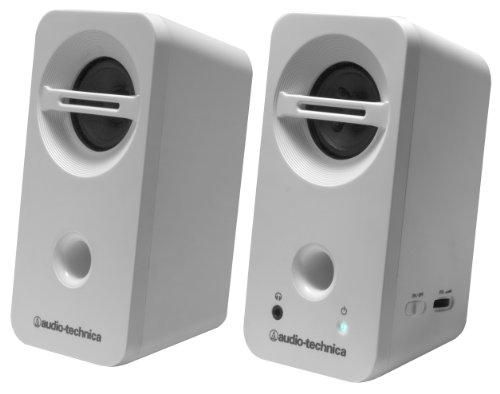 audio-technica デスクトップスピーカー ホワイト AT-SP93 WH
