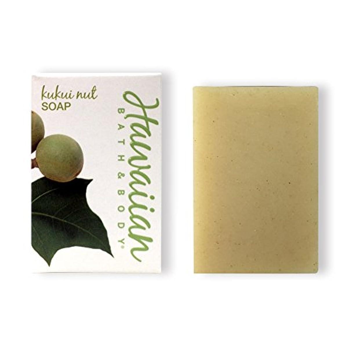 仕事に行くジョージバーナード尽きるハワイアンバス&ボディ ククイナッツドリームソープ(無香料)( Kukui Nut Soap)