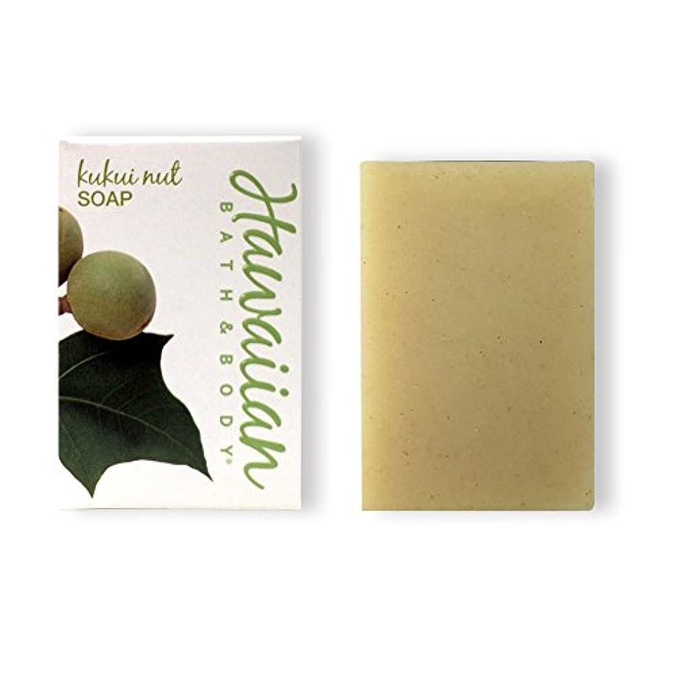 霧深い熟読するスポンサーハワイアンバス&ボディ ククイナッツドリームソープ(無香料)( Kukui Nut Soap)