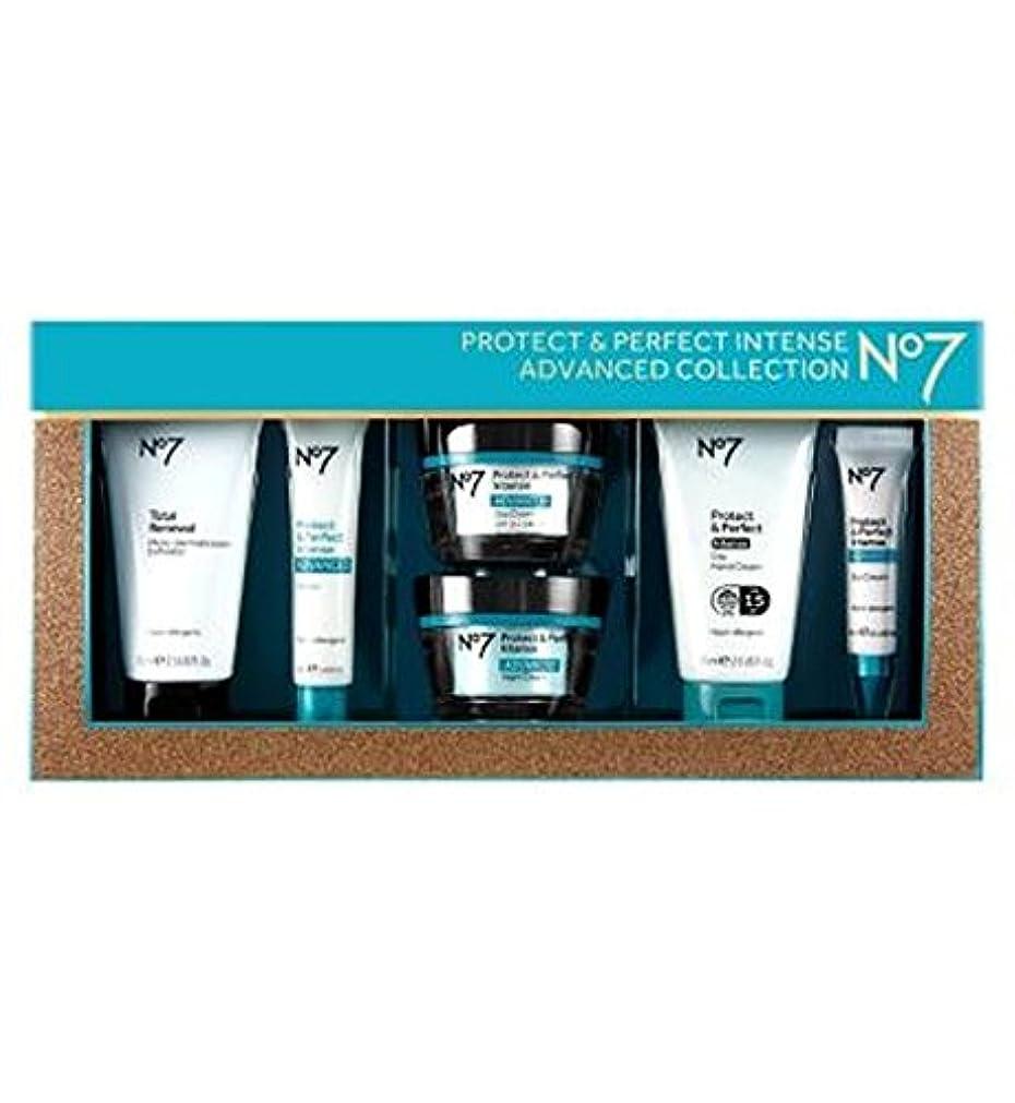 切手不名誉なカポックNo7保護&完璧な強烈な高度なコレクション (No7) (x2) - No7 Protect & Perfect Intense ADVANCED Collection (Pack of 2) [並行輸入品]