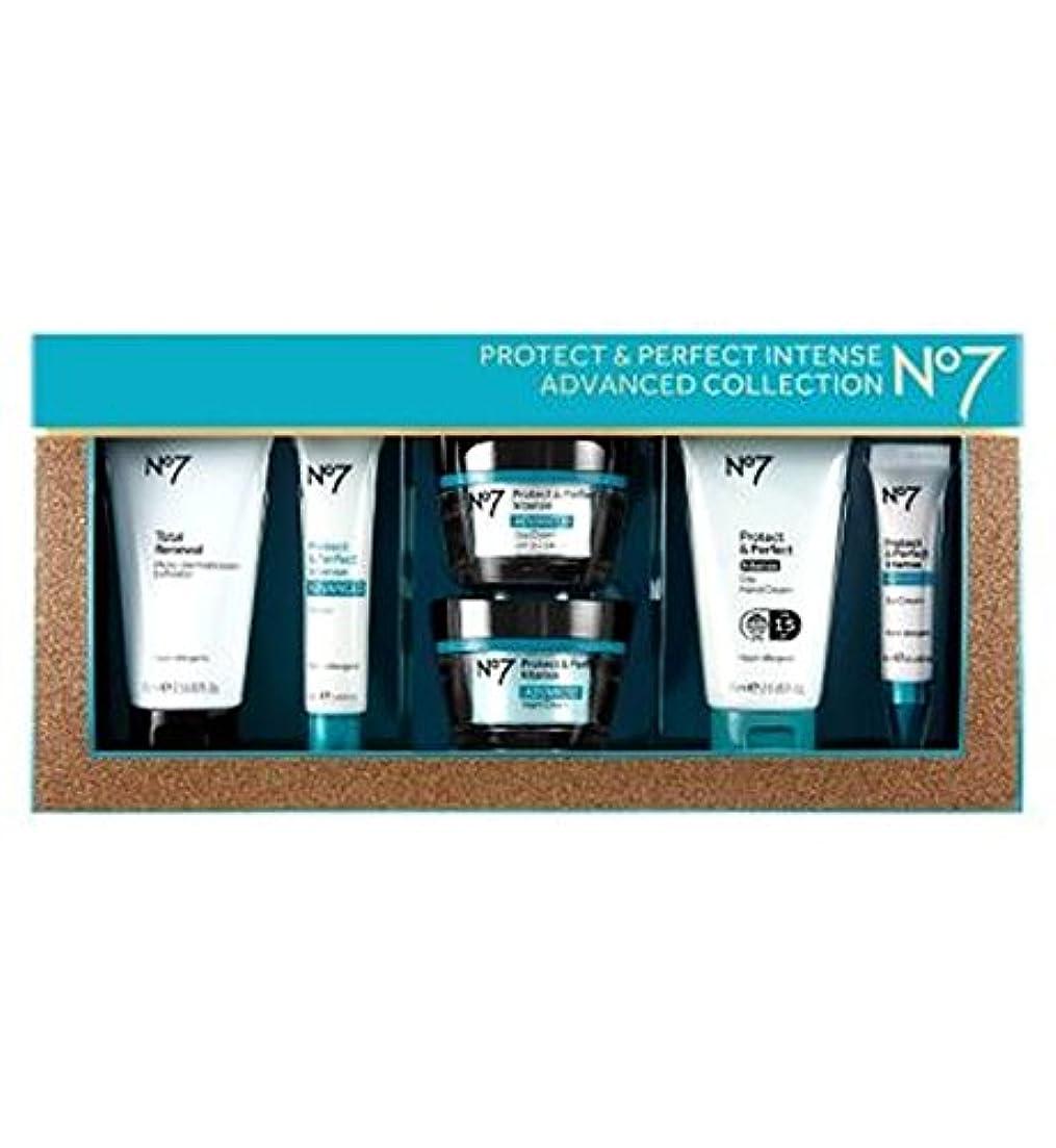 閉じるパラダイス大西洋No7保護&完璧な強烈な高度なコレクション (No7) (x2) - No7 Protect & Perfect Intense ADVANCED Collection (Pack of 2) [並行輸入品]