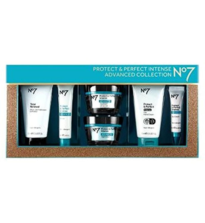 敬クロールスチールNo7保護&完璧な強烈な高度なコレクション (No7) (x2) - No7 Protect & Perfect Intense ADVANCED Collection (Pack of 2) [並行輸入品]