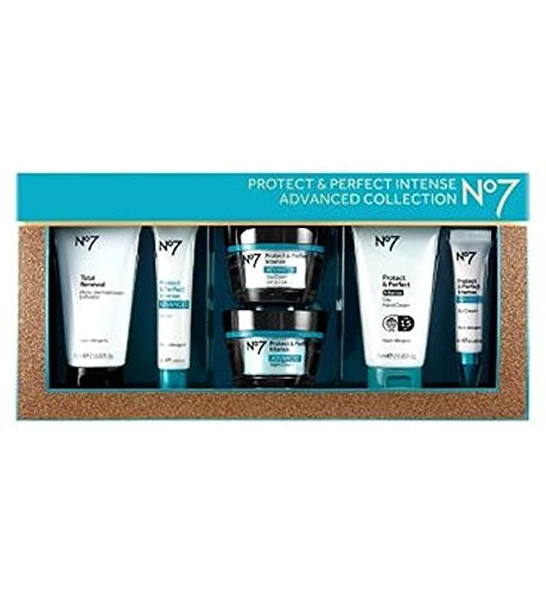 拘束アラート文明No7保護&完璧な強烈な高度なコレクション (No7) (x2) - No7 Protect & Perfect Intense ADVANCED Collection (Pack of 2) [並行輸入品]