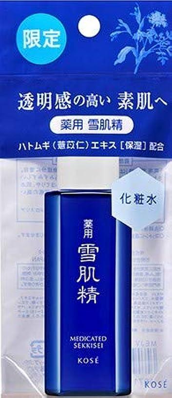 レモンプレゼンテーション凶暴な限定品 コーセー 雪肌精 化粧水 24ml