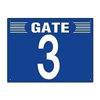 305-302 ゲート表示板 GATE 3 ヨコ