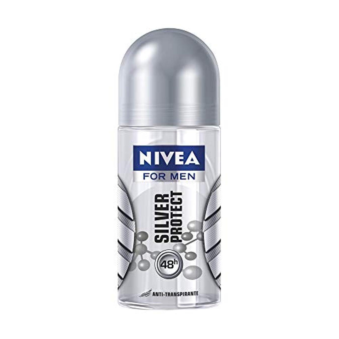 アルファベット死傷者神学校NIVEA for Men ニベアフォーメン ブラジル ロールオンデオドラント?Silver Protect シルバープロテクト 50ml