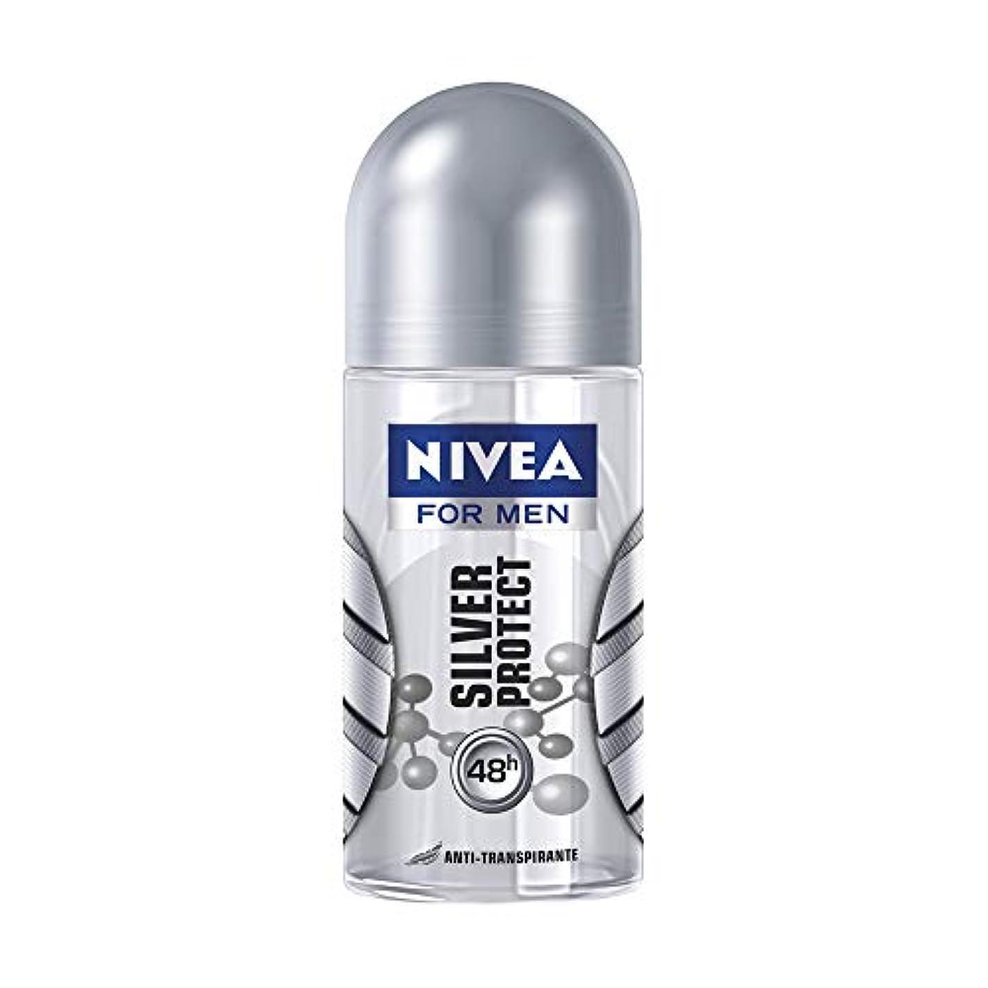 祖父母を訪問若者直径NIVEA for Men ニベアフォーメン ブラジル ロールオンデオドラント?Silver Protect シルバープロテクト 50ml